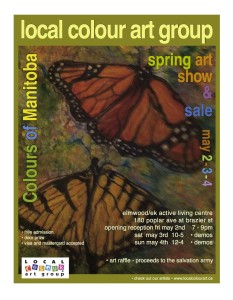 L-C Spring Art Show Poster