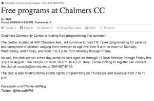 Free programing at Chalmers