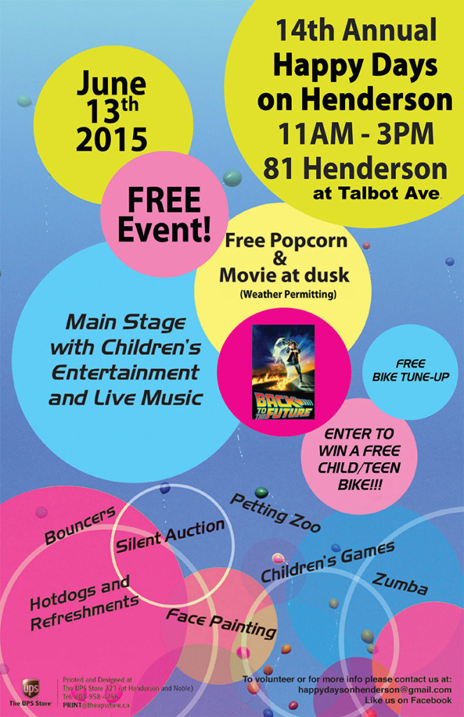14th Annual Happy Days on Henderson